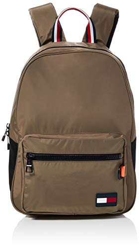Tommy Hilfiger - Backpack, Mochilas Hombre, Gris (Nomad), 1x1x1 cm (W x H L)