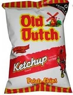 Old Dutch Ketchup Chips - 40g/1.411oz Bag