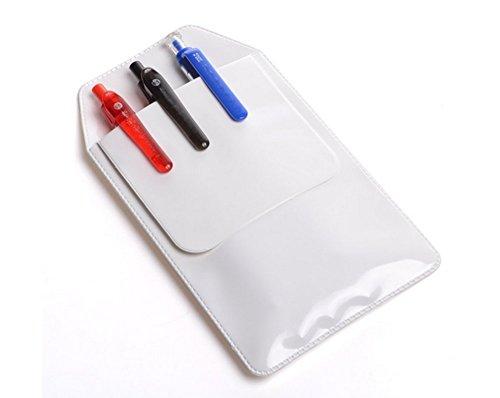 Ericotry - Protector de bolsillos, ideales para el colegio, hospitales, como suministro de oficina, para bolígrafos, camisas, batas de laboratorio, pantalones, multiusos, 4 unidades
