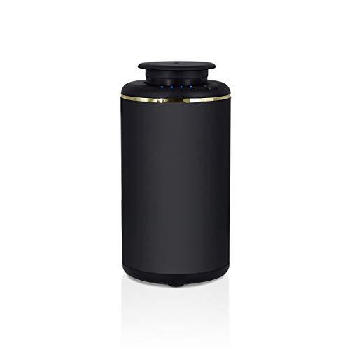 sin agua USB puro aceite esencial aroma difusor nebulizante sin calor, sin agua para la sala de estar, dormitorio, coche (color blanco)
