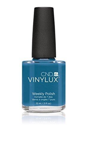 Creative Nail Creative Nail Design Vinylux Nail Lacquer, Blue Rapture, 0.5 Fluid Ounce by Creative Nail