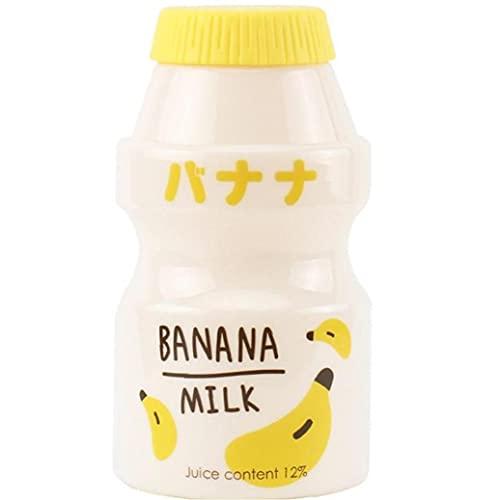 Froiny Botella De Agua De Fugas De Fugas Portátil De Kawaii Banana Botella para Beber para Niños para Niños Viajes Aire Libre