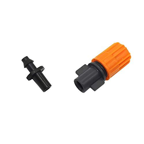 CHENHUA Zerstäubungsdüse Orange Nebel-Düse, Gewächshäuser Kühlung und Luftbefeuchtung Industrie Staubabsaugung, Landwirtschaftliche Werkzeug Sprayer 5 Stück (Color : Multi)