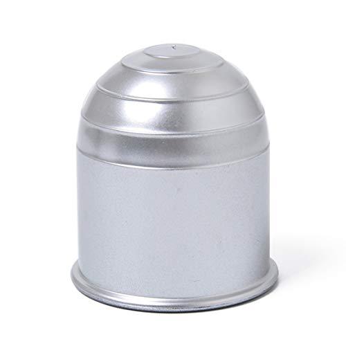 Garciasia Tapa Universal de la Bola de la Barra de Remolque de 50 mm Enganche de Remolque Caravana Remolque Towball Protect Cubierta de la Bola de la Barra de Remolque (Color: Negro)