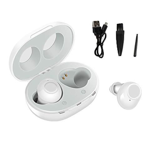 GUTYRE Función De Audición Digital para Eliminar El Ruido, Carga USB, Amplificador De Sonido De Silicona De Succión Magnética con Caja De Carga Portátil