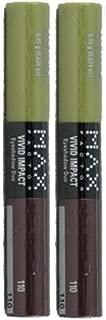 Max Factor Vivid Impact Eyeshadow Duo 110 IRISH COFFEE BY MAXFACTOR (PACK OF 2 Tubes)