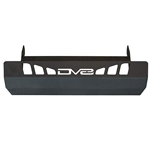 DV8 Offroad | Sway bar Disconnect Skid Plate Designed for The 2018+ Jeep Wrangler JL or 2018+ Jeep Gladiator JT | Protection for Vital Components | Powder Coated Steel | Easy Installation