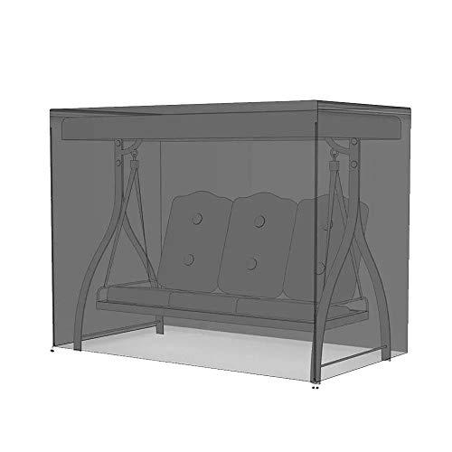 Cxraiy-HO Couvertures pour balancelle de meubles d'extérieur imperméable de couverture de l'oscillation Hammock Table poussière et rayons UV One Size noir