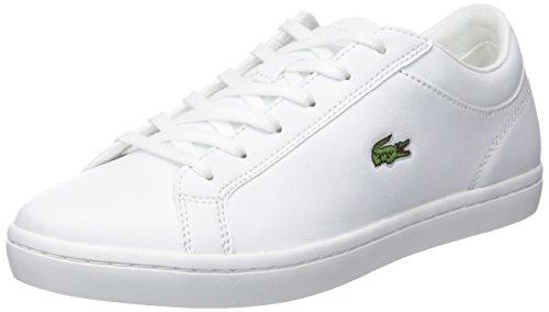 Lacoste Straightset BL 1 SPW, Zapatillas Mujer, White, 40 EU