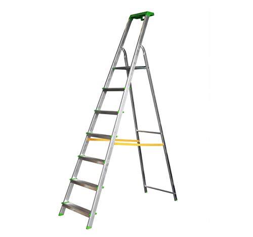 Escalera Tijera Bandeja Superior Multifuncional (7 Peldaños)