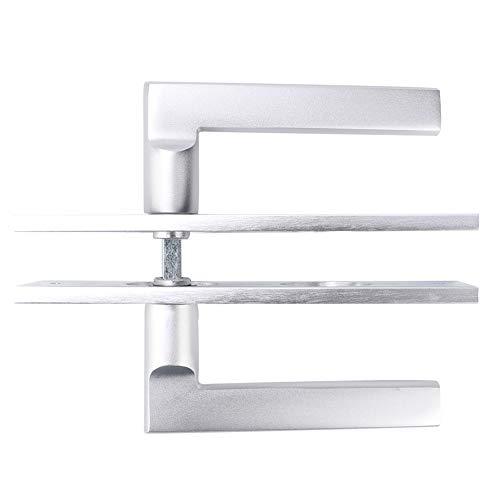 Weikeya Cerradura de puerta lisa, aluminio del espacio de la cerradura del refuerzo de la puerta del cojín de la galjanoplastia del vacío del 12.8cm
