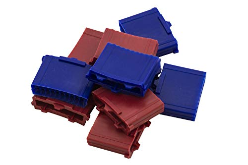 Löwen Segment 10er Set Triple/dreifach Löwen Dart 5 rot & 5 blau E213031-1