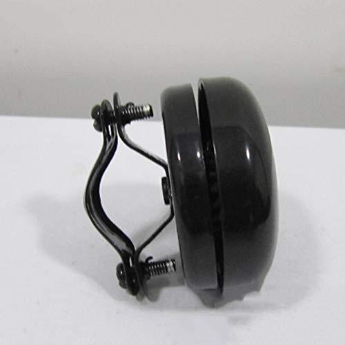 LIOOBO Classic Bicycle Bell Metal Bike Bell Ring Handlebar Ring Horn Alarm Warning Bell for Adults Kids Bikes Black