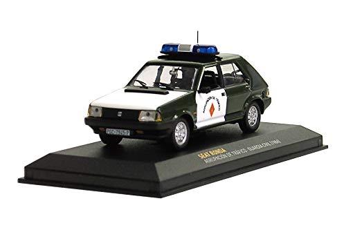 Maqueta de coche de policía Altaya by Ixo para Seat Ronda (1984) 1:43