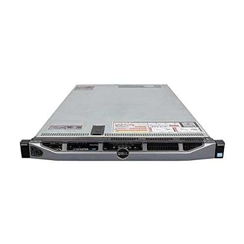 DELL PowerEdge R620 / 2X E5-2680 8C @ 2.7GHz / 128GB-R / 8X 300GB / 2X 1100W PSU