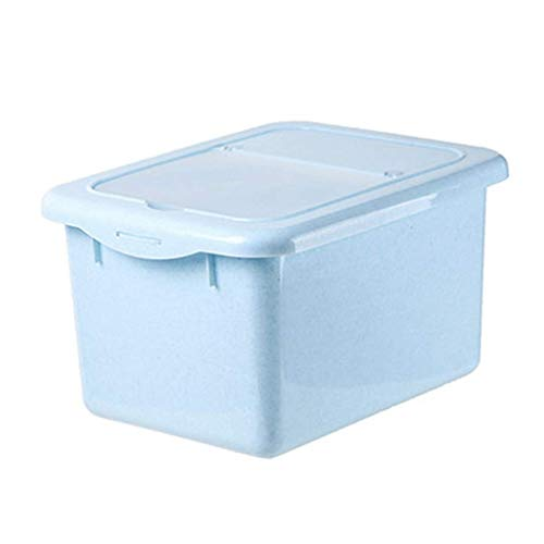 ZXL opbergdoos voor muesli, Lock & Lock opbergdoos voor rijstcilinder 7,5 kg 10 kg familie zegel vochtbestendig geschikt voor korrels en meel (kleur: roze, maat: g