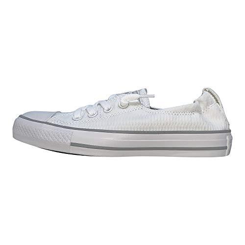 Converse - Zapatillas Chuck Taylor All Star Shoreline de mujer con goma en el borde, blanco (Blanco), 38 EU