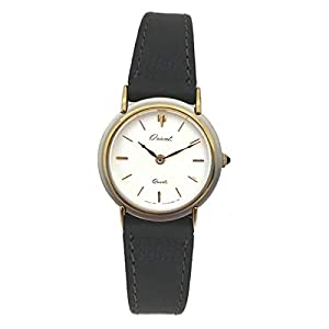 Orient Reloj Analog-Digital para Womens de Automatic con Correa en Cloth