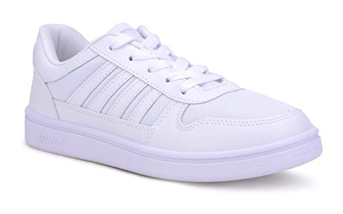 Sparx Men's White Sneakers-9 UK (SD0439G_WHWH0009)