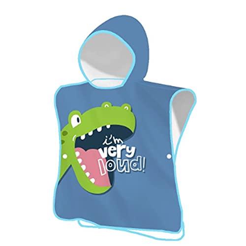 ETSK - Poncho de playa con capucha para niños de 2 a 8 años con capucha para niños pequeños