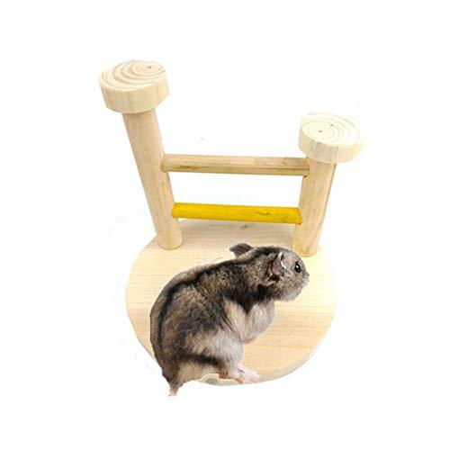 Hamster Zubehör und Spielzeug Hamster Versteck Meerschweinchen Spielzeug Hamster Klettern Spielzeug Hamster Hamster Sand Holz Hamster Spielzeug Hamster Haus Kaninchen Spielzeug zcaqtajro