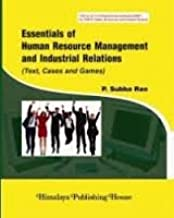 Essentials of HRM and Industrial Relation