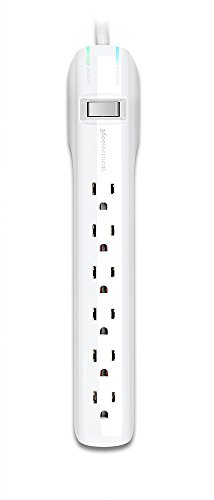 360 Electrical 360314 Suite+ Surge Protector, 6', White