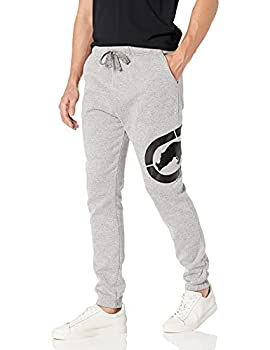 Ecko Unltd Men s All Day Hustle Fleece Jogger Pant Grey Marled 2XL