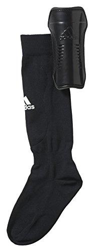 adidas Kinder Shin Guards, Black/White, S