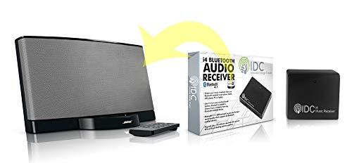Bluetooth Music Audio Receptor Adaptador - Dongle inalámbrico portátil para la transmisión de audio en casa en su estación de acoplamiento / altavoz - Bluetooth 4.1 y aptX habilitado