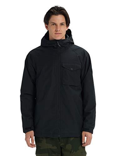 Burton Mens Portal Jacket, True Black 1, Large