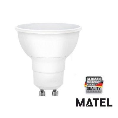 MATEL M288960 gu10 Ampoule LED Dichroic lumenes 8w-800