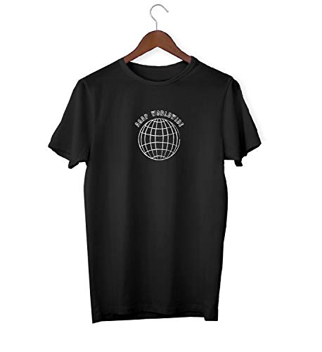ASAP Worldwide Globe Earth Travel_KK018977 Shirt T-Shirt Tshirt for Men Für Männer Herren Gift for Him Present Birthday Christmas - Men's - Small - White