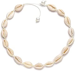 HSWE Shell Choker Necklace for Women Seashell Necklace...