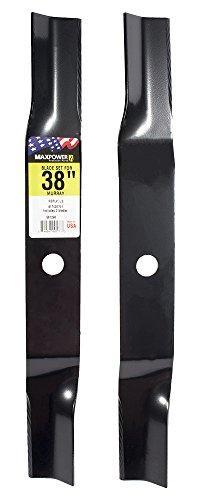 "MaxPower 561290B Blade Set for 38"" Cut Replaces Murray 91742E701"