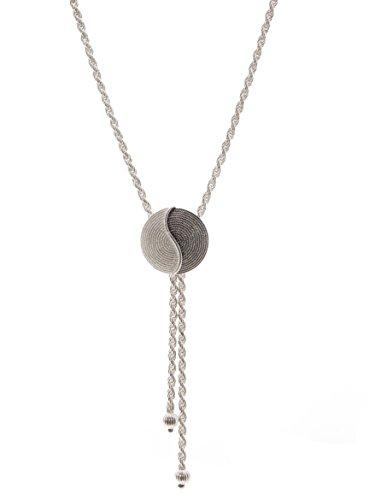 Sterling Silver Corbula Tao Necklace