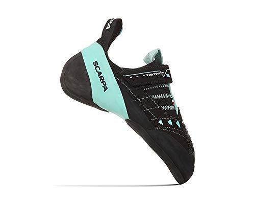 Scarpa Instinct VS Kletterschuhe Damen Black/Aqua Schuhgröße EU 37,5 2020 Boulderschuhe