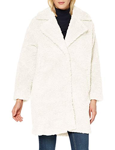 Herrlicher Damen Tabby Short Fake Fur Jacke, Offwhite 61, S