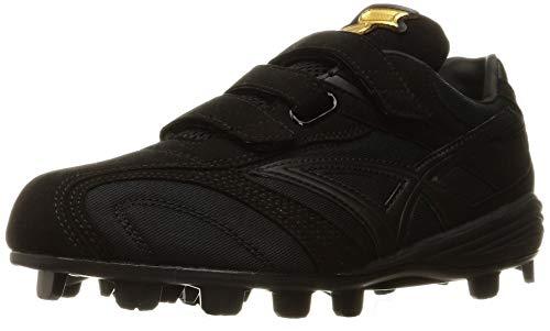[エスエスケイ] 野球スパイク プロエッジ MC-NV メンズ ブラック×ブラック(9090) 28 cm