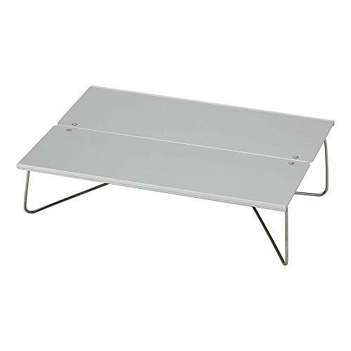 WJQ Hochwertiger Klapptisch - Camping-Tischständer, tragende 3 kg Aluminiumlegierung, langlebig, leicht und kompakt - geeignet für Barbecue-Picknick-Partys
