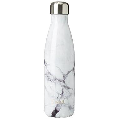 S'well BLEL-17-B17 Stainless Steel Bottle, 17 oz, Blue Granite