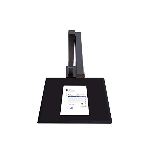 CZUR Shine Ultra Smart Document Scanner, Book Scanner with OCR Auto-Flatten & Deskew, Capture Size A3, Compatible with Windows & Mac OS