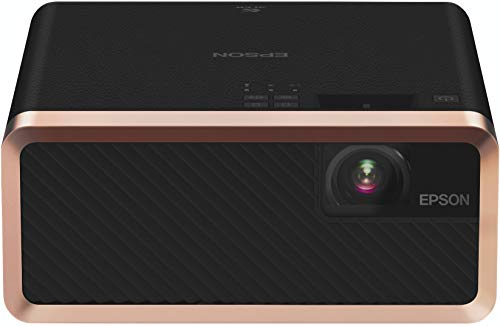Epson EF-100B 3LCD, Laser, Streaming Device, Bluetooth, Built In 5 W Speaker, Portable Projector - Black [Amazon Exclusive]