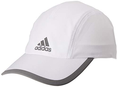 adidas Herren R96 Climalite Kappe, White/White/Reflective Silver, OSFM