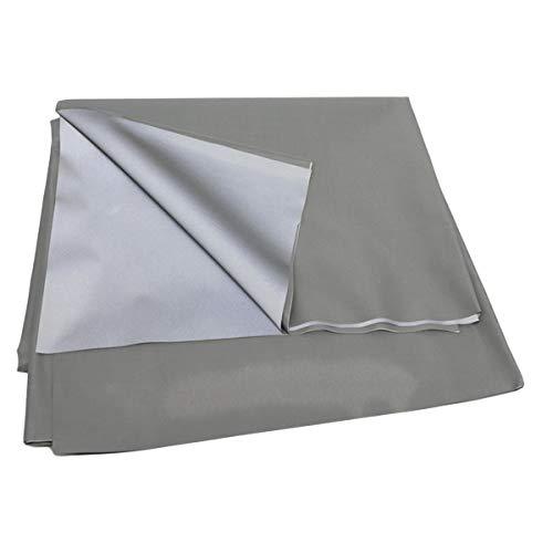iFCOW Proyector Cortina Pantalla Portátil Plegable Anit-Light Pantalla de Proyección Trasera Pantalla de Proyección 16:9