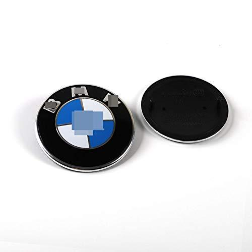 HHYM 4 PCS/Set Rueda Caps Caps Ajuste para LA Rueda DE BMW CUERDO CUERBLE Cubierta DE LA Rueda DE AUTOMÓVIL Logo DE Logo DE Accesorios DE Estilo 74mm 326