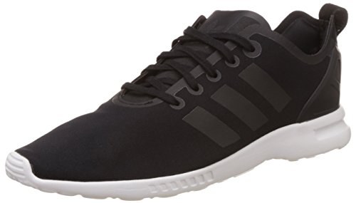 adidas Originals ZX Flux Smooth S78964, Damen Low-Top Sneaker, Schwarz (Core Black/Core Black/Core White), EU 40 2/3