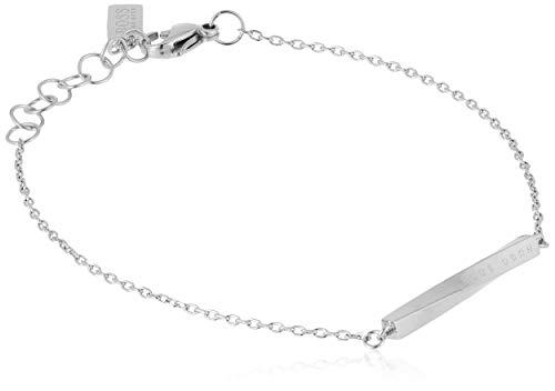 BOSS Damen-Armband Signature Edelstahl One Size Silber 32012832