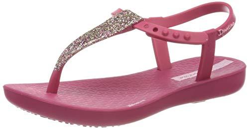Ipanema Mädchen Charm Sand II Kids T-Spangen Sandalen, Mehrfarbig (Pink/Pink/Gold 9229.0), 27/28 EU