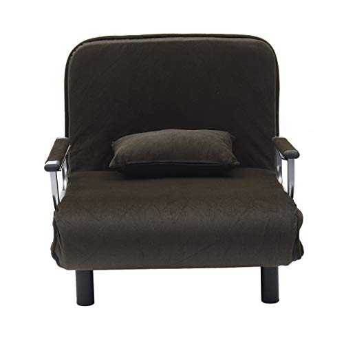 Pudincoco sofá Cama Plegable Siesta Moderna Cama de Esponja portátil Sillón de Dormir Sillas para el hogar de Moda Muebles para el hogar universales